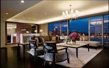 Phòng khách đón gió và có view đẹp tại can ho Diamond Lotus