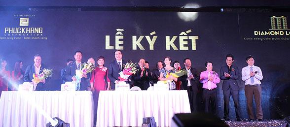 Lễ ký kết dự án diamond lotus