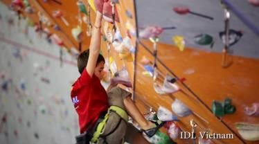 Học viên IDL kids Yan tại dự án Diamond Lotus